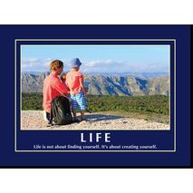 Motivational Print Life MP LI 0027