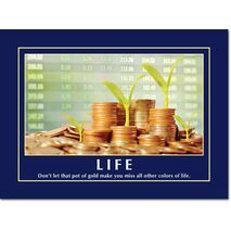 Motivational Print Life MP LI 0018