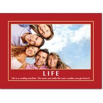 Motivational Print Life MP LI 0019