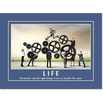 Motivational Print Life MP LI 0024