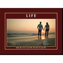 Motivational Print Life MP LI 0026