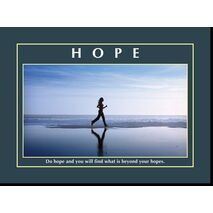 Motivational Print Do hope and MP AS 7721