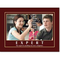 Motivational Print The expert in anything MP AS 7728