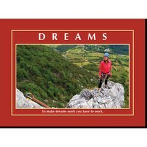 Motivational Print To make dreams work MP AS 7729