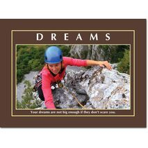 Motivational Print Your dreams are MP AS 7731