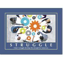 Motivational Print Today's struggle develops MP AS 7737