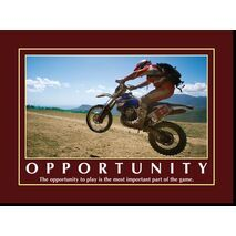 Motivational Print The opportunity to play MP AS 7705