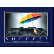 Motivational Print Success MP SU 1138