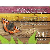Daughter - Personalised Sentimental Wall Calendar
