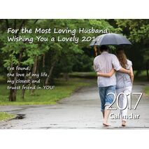 Husband - Personalised Sentimental Wall Calendar