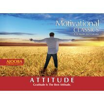 Attitude Motivational Wall Calendar