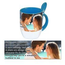 Personalised Pictorial Spoon Mug PP SM 1310