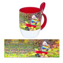 Personalised Pictorial Spoon Mug PP SM 1313