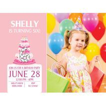 Birthday Invitation Card BIC 1002