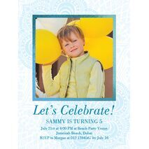 Birthday Invitation Card BIC 1105