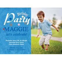 Birthday Invitation Card BIC 1110