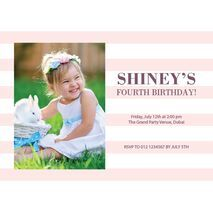 Birthday Invitation Card BIC 1012