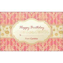 Birthday Gift Tag BGT 0015