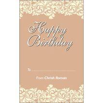 Birthday Gift Tag BGT 0022