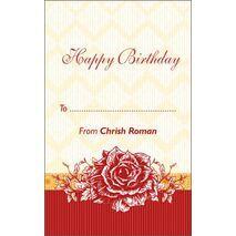 Birthday Gift Tag BGT 0029