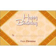 Birthday Gift Tag BGT 0032