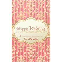 Birthday Gift Tag BGT 0033