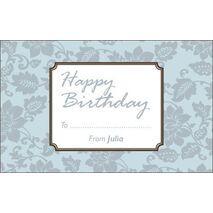 Birthday Gift Tag BGT 0034