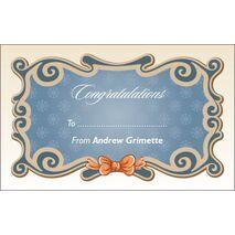 Congratulations Gift Tag C GT 0609