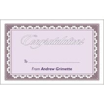 Congratulations Gift Tag C GT 0610