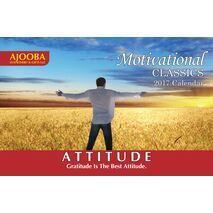 Attitude Motivational Desk Calendar