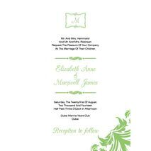 Wedding Invitation Card WIC 7811