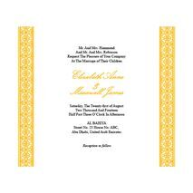 Wedding Invitation Card WIC 7816