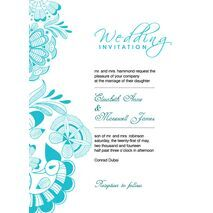 Wedding Invitation Card WIC 7818