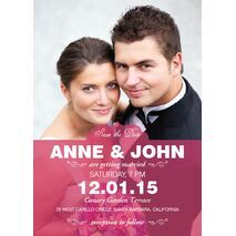 Wedding Invitation Card WIC 7804