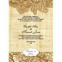 Wedding Invitation Card WIC 7820