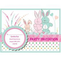 Kids Party Invitation 006