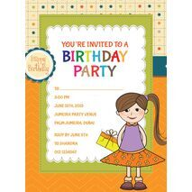 Kids Party Invitation 007