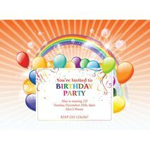 Kids Party Invitation 016