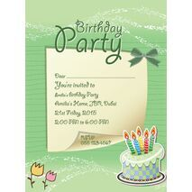 Kids Party Invitation 023