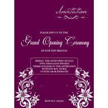Office Inaugural Invitation OII 7101
