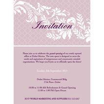 Office Inaugural Invitation OII 7102