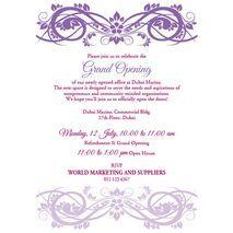 Office Inaugural Invitation OII 7110