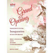 Office Inaugural Invitation OII 7120