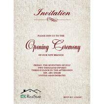 Office Inaugural Invitation OII 7122