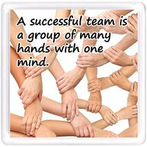 Motivational Magnet Teamwork MMT 1018