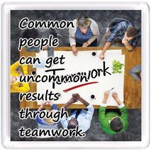 Motivational Magnet Teamwork MMT 1005