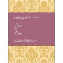 Wedding Invitation Card WIC 7885