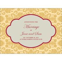 Wedding Invitation Card WIC 7887