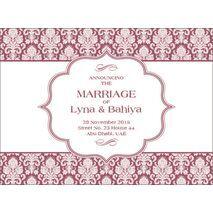 Wedding Invitation Card WIC 7893