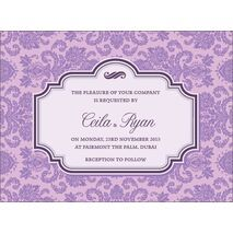 Wedding Invitation Card WIC 7894
